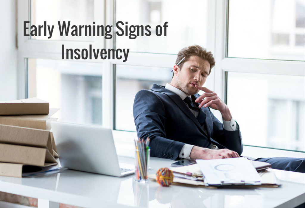 Nine early warning signs of insolvency