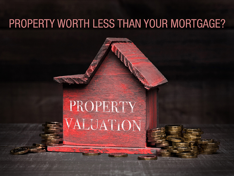 Is your property worth less than your mortgage? 3 steps that can save you from bankruptcy…