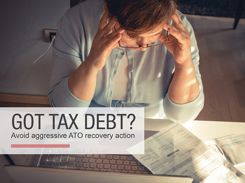 ATO aggressively pursuing recovery of tax debts