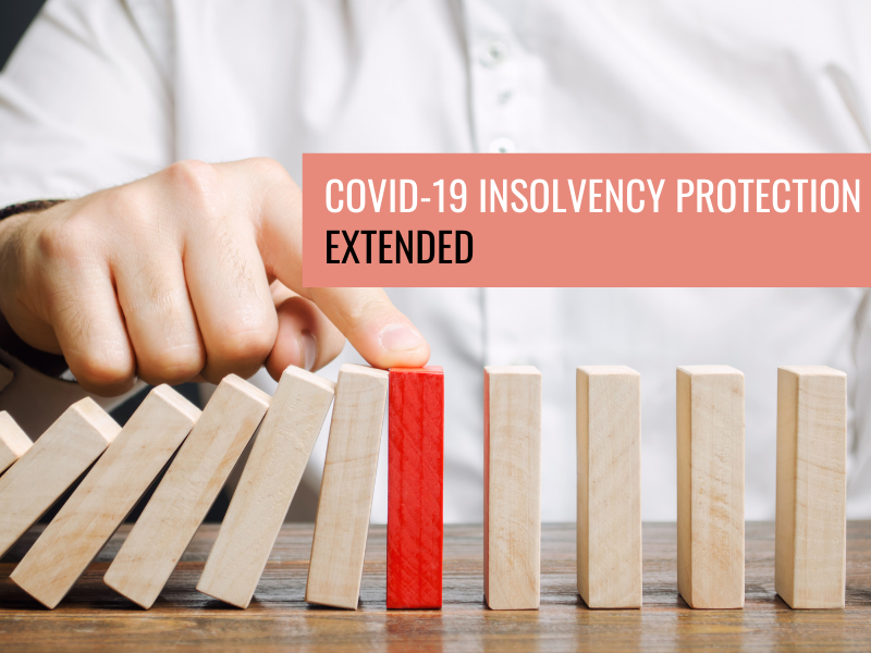 Covid-19 Insolvency Protection Extended