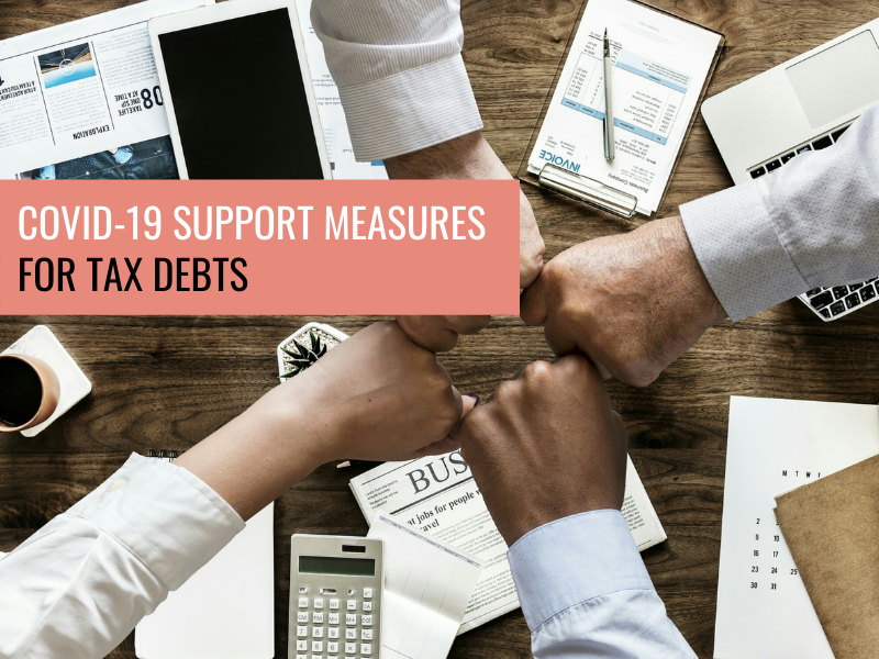 COVID-19 Support Measures for Tax Debts