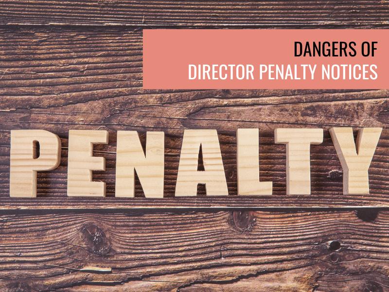 Dangers of director penalty notices