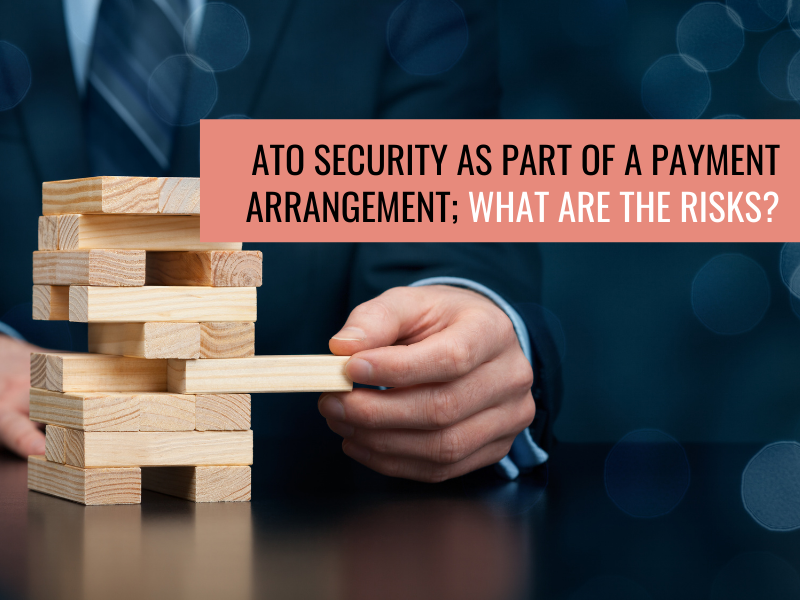 ATO Security as Part of a Payment Arrangement; What are the Risks?